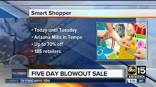 Arizona Mills holding five-day blowout sale - Video
