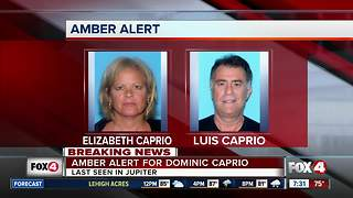 Amber Alert for Dominic Caprio - Video