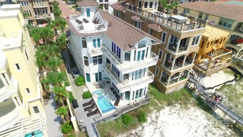 You Can Rent This Luxury Mansion on a Private Beach on Florida's Emerald Coast
