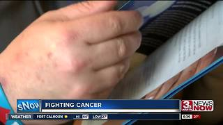Omaha man fights cancer for himself, others