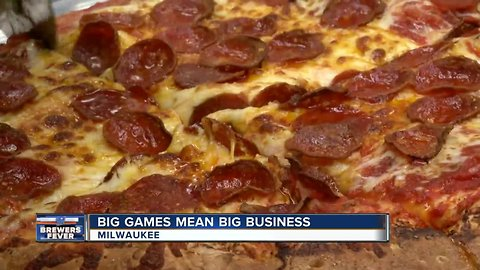 Monday night game day rush is big business for local restaurants
