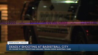Deadly shooting at Basketball City in Roseville