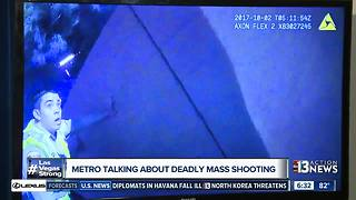 Las Vegas Metro Police release body cam footage of mass shooting - Video