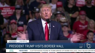 Trump to visit Yuma border wall