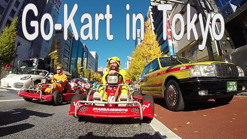 You Can Now Ride A Go-Kart Through The Streets Of Tokyo