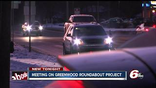 Plan to replace busy intersection in Greenwood with roundabout - Video