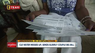 Local elderly couple fights for months against erroneous Cleveland Water bill - Video