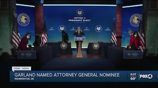 Garland named Attorney General nominee