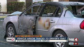 Vehicle Arson Traced to Driver's Seat - Video