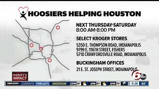Hoosiers Helping Houston: Help those in need after Harvey disaster - Video