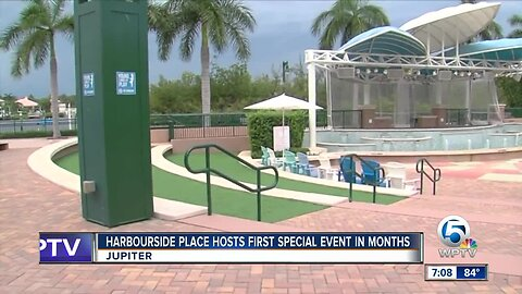 Harbourside Place hosts first special event in months