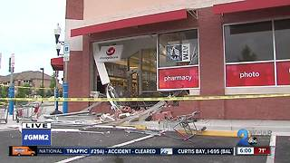 Vehicle slams into CVS store in Odenton - Video