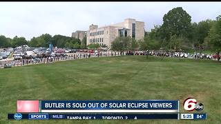 Butler University sold out of solar eclipse viewers - Video