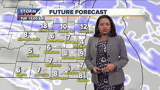 Winter Weather Advisories in effect Monday - Video