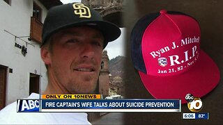 CAL FIRE Captain's wife talks about suicide prevention