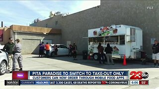 Pita Paradise moving to take-out only