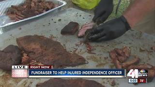 Fundraiser to help injured Independence officer - Video