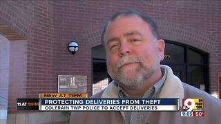 This police dept. will hold holiday packages - Video