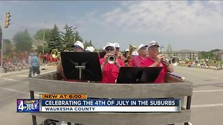 Citizens show their patriotism at local parades
