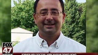Former MSU Doctor Larry Nassar denied bond - Video