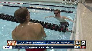 Local para Swimmers to take on the world - Video