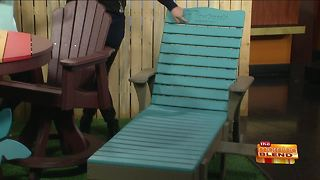 Beautiful and Eco-Friendly Outdoor Furniture - Video