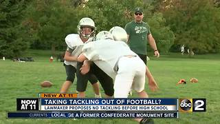 Maryland lawmaker to introduce bill to ban tackle football for kids - Video