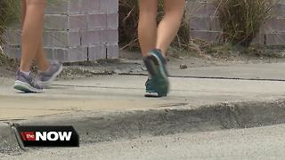 Popular restaurant group puts in new sidewalks along part of South Howard district - Video