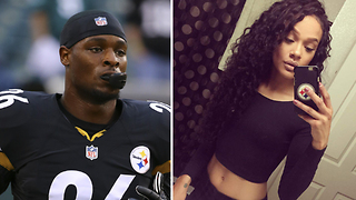 Le'Veon Bell KNOCKS UP Rams Cheerleader While Engaged - Video