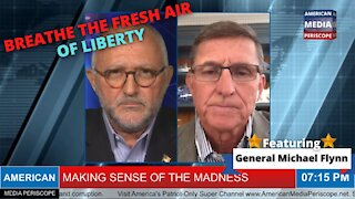 Explosive, Fiery John Michael Chambers Interview With America's General Michael Flynn
