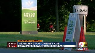 Feds, police search Ohio park for missing Dayton-area woman - Video