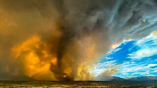 Thunderstorms Complicate California Wildfires