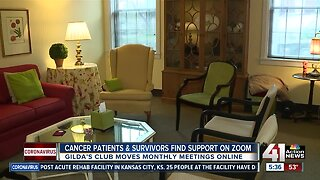 Cancer patients, survivors find support on Zoom