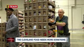 Cleveland Food Bank hustling to feed community during the holidays - Video