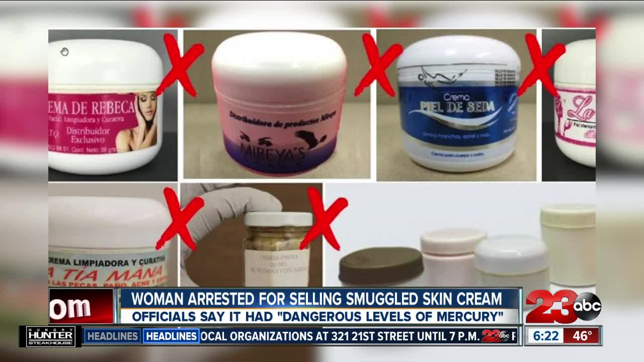 Woman Arrested for Selling Smuggled Skin Cream