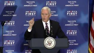 Vice President Pence remarks on the War on Terror - Video