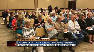 Alleged 'Cancer Cluster' focus of special Manatee County meeting - Video