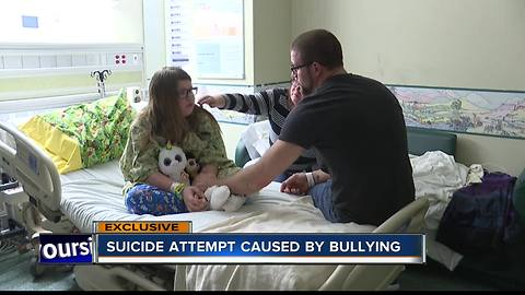 Boise girl says bullying lead her to attempt suicide