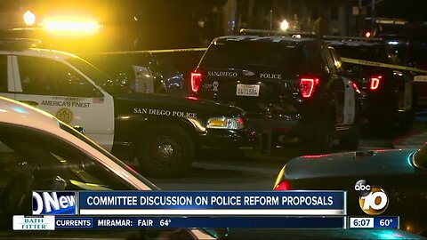 Committee to discuss proposal to create independent commission to oversee police