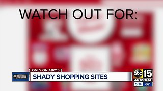 How to avoid shady online shopping sites