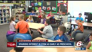 Indiana school focuses on STEM fields - Video