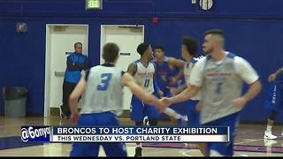 Boise State gets their head in the game for good cause - Video