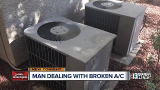 Family endures near-record heat without air conditioning - Video