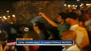 Local leaders react to protests