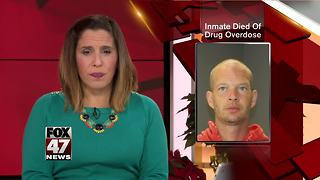 Man charged in overdose death of Michigan jail inmate - Video