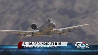 Oxygen malfunctions grounded some DM A-10s - Video