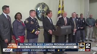 Baltimore County employees win five national awards