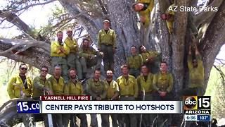 New center will pay tribute to fallen Granite Mountain Hotshots - Video