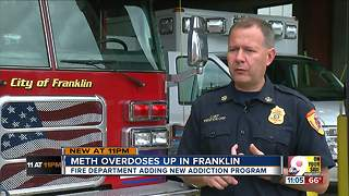 Franklin fire chief says town is experiencing meth spike - Video