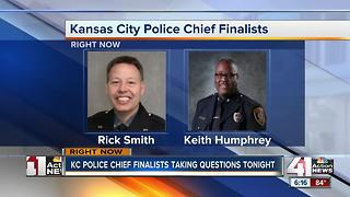 Residents question KCPD chief candidates in public forum